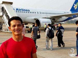 Wwoofing en thailande, faire du volontariat en thailande, faire du bénévolat en thailande, woofing thailande, thai wwoof, excursion en issan, guide à vientiane au Laos, avion pour le Laos