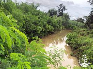 le canal vers le Mékong