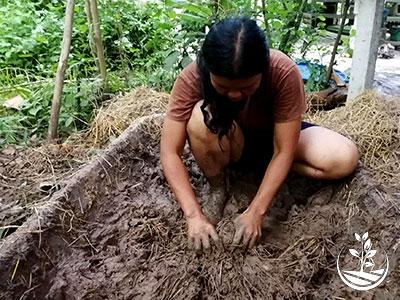 construction naturelle, construire en Thaïlande