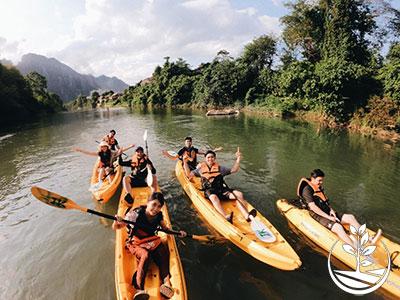 excursion au Laos, Vientiane, guide francophone, woofing thailande