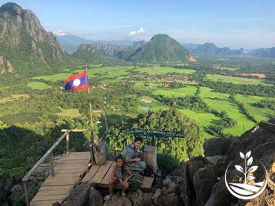 excursion et visite à Vang Vieng au Laos près de Vientiane