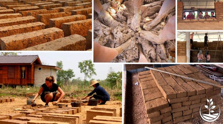 Construction naturelle en Thaïlande, stage de construction naturelle, éco village, écovillage en Thaïlande