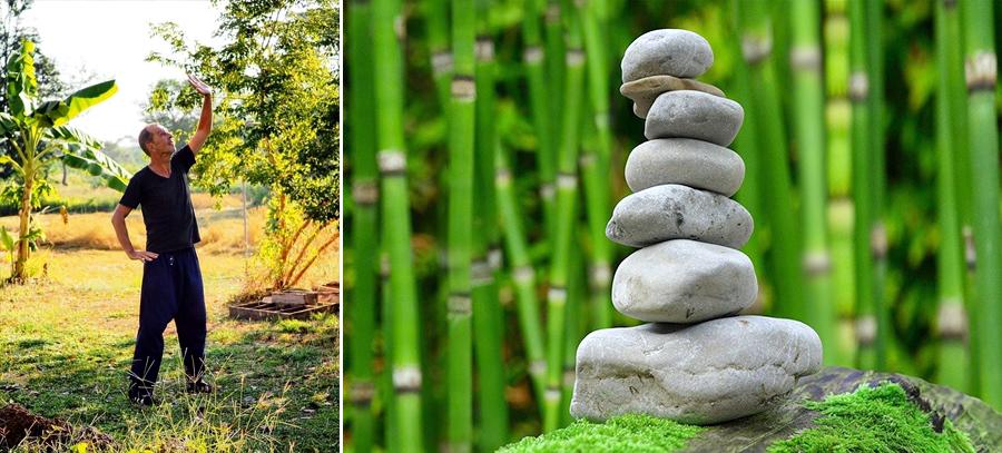 yoga en Thaïlande, stage de yoga, initiation yoga; woofing en Thaïlande, permaculture