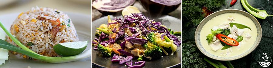 stage de cuisine thaï, cours de cuisine thailandaise, apprendre à cuisiner thaï, les plats thaïs
