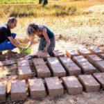 Briques construction naturelle