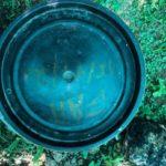 Bassine pour faire le compost